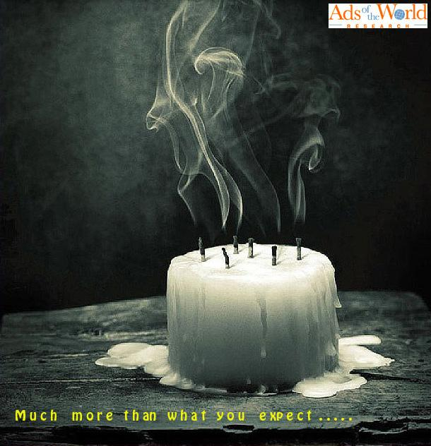 Ads of the World Print Ad -  Candle