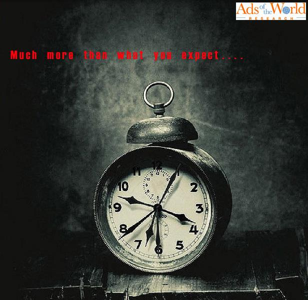 Ads of the World Print Ad -  Clock