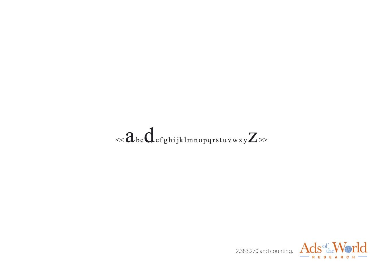 Ads of the World Print Ad -  Search line, 1