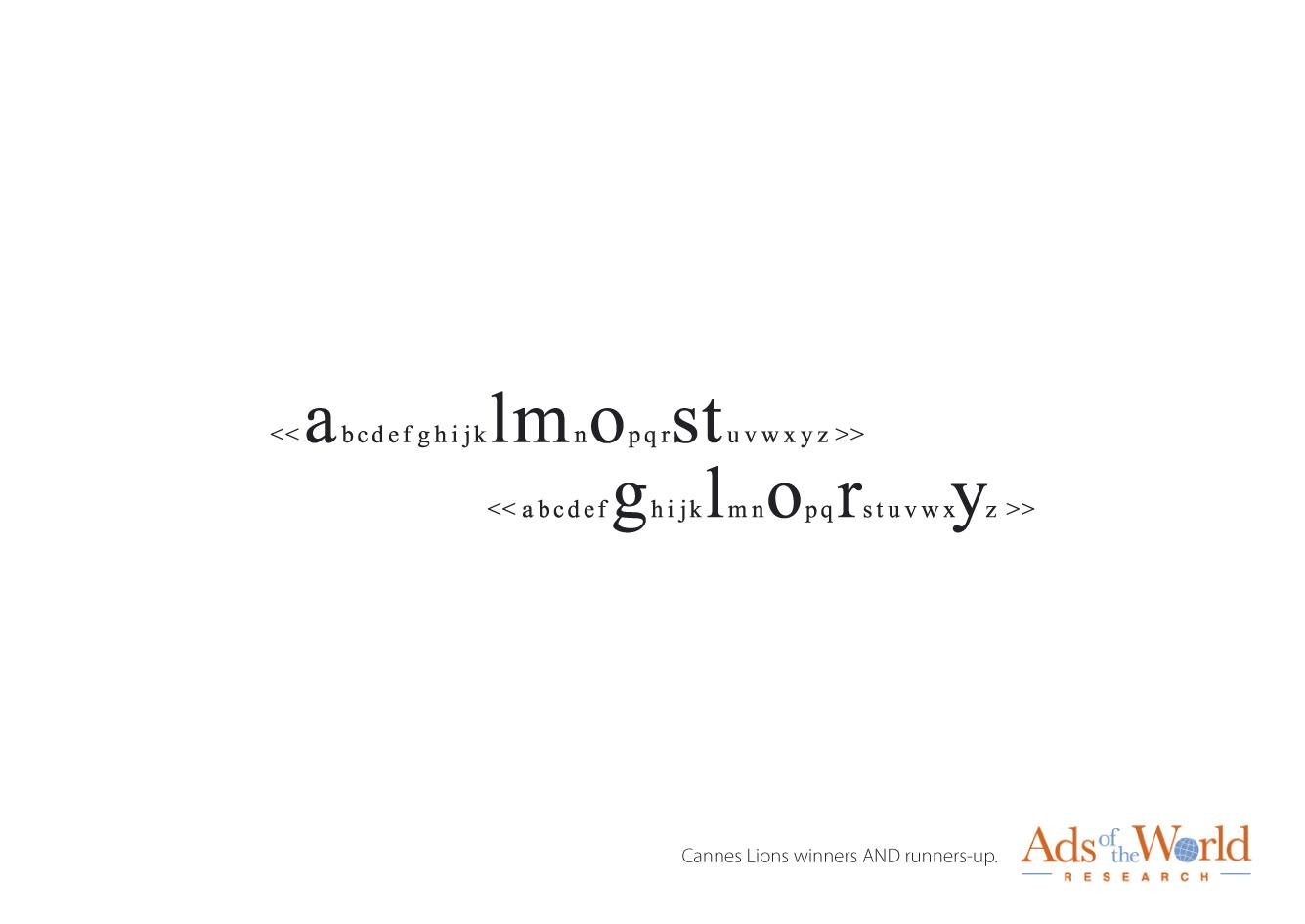 Ads of the World Print Ad -  Search line, 4