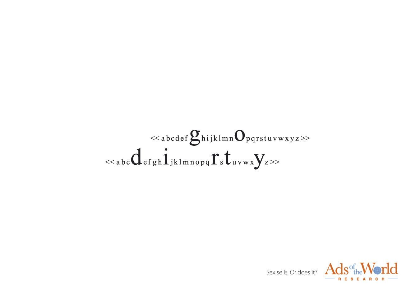 Ads of the World Print Ad -  Search line, 5