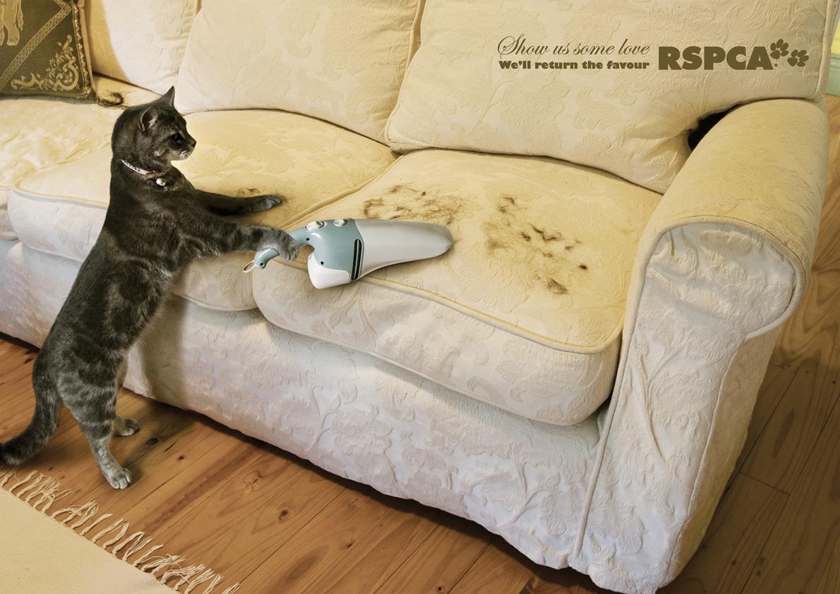 RSPCA Print Ad -  Vacuum