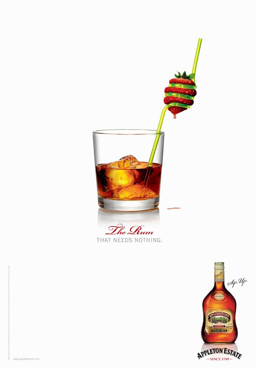 Appleton Estate Print Ad -  Straw