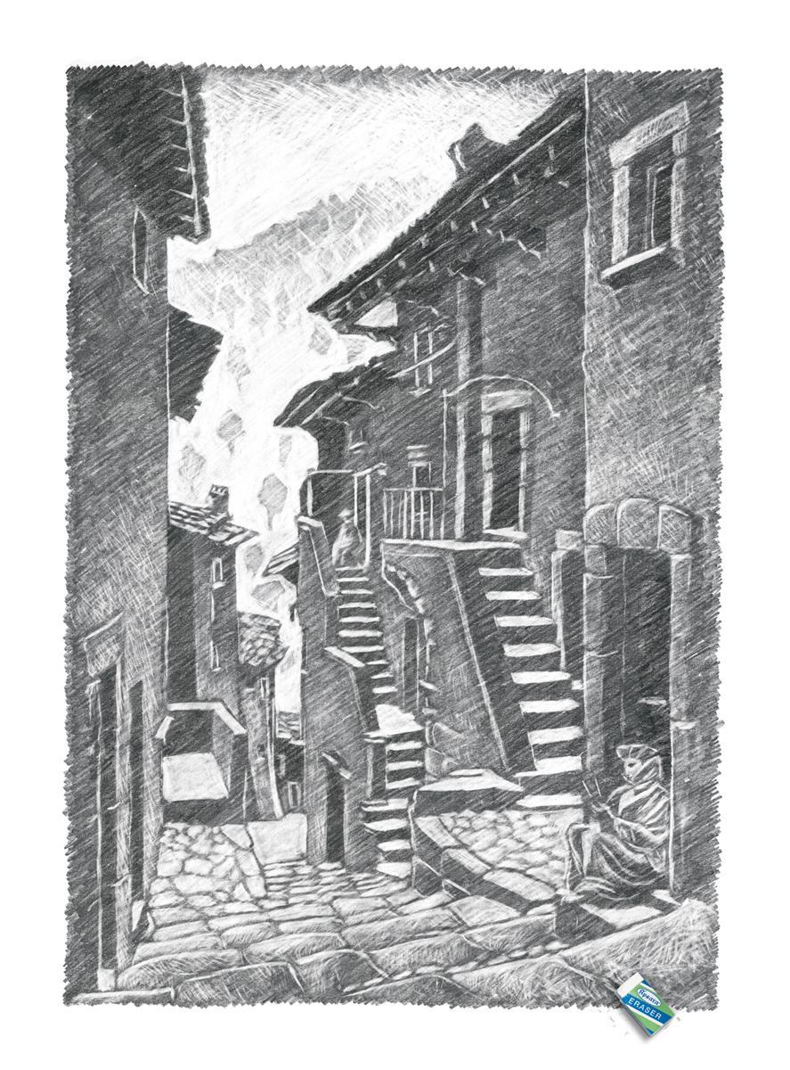 Apsara Print Ad -  Escher