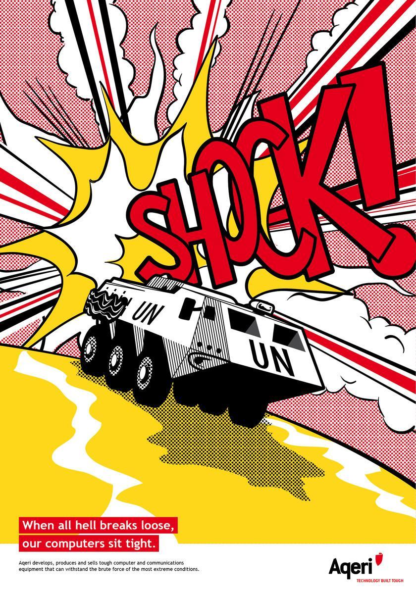 Aqeri Print Ad -  Shock
