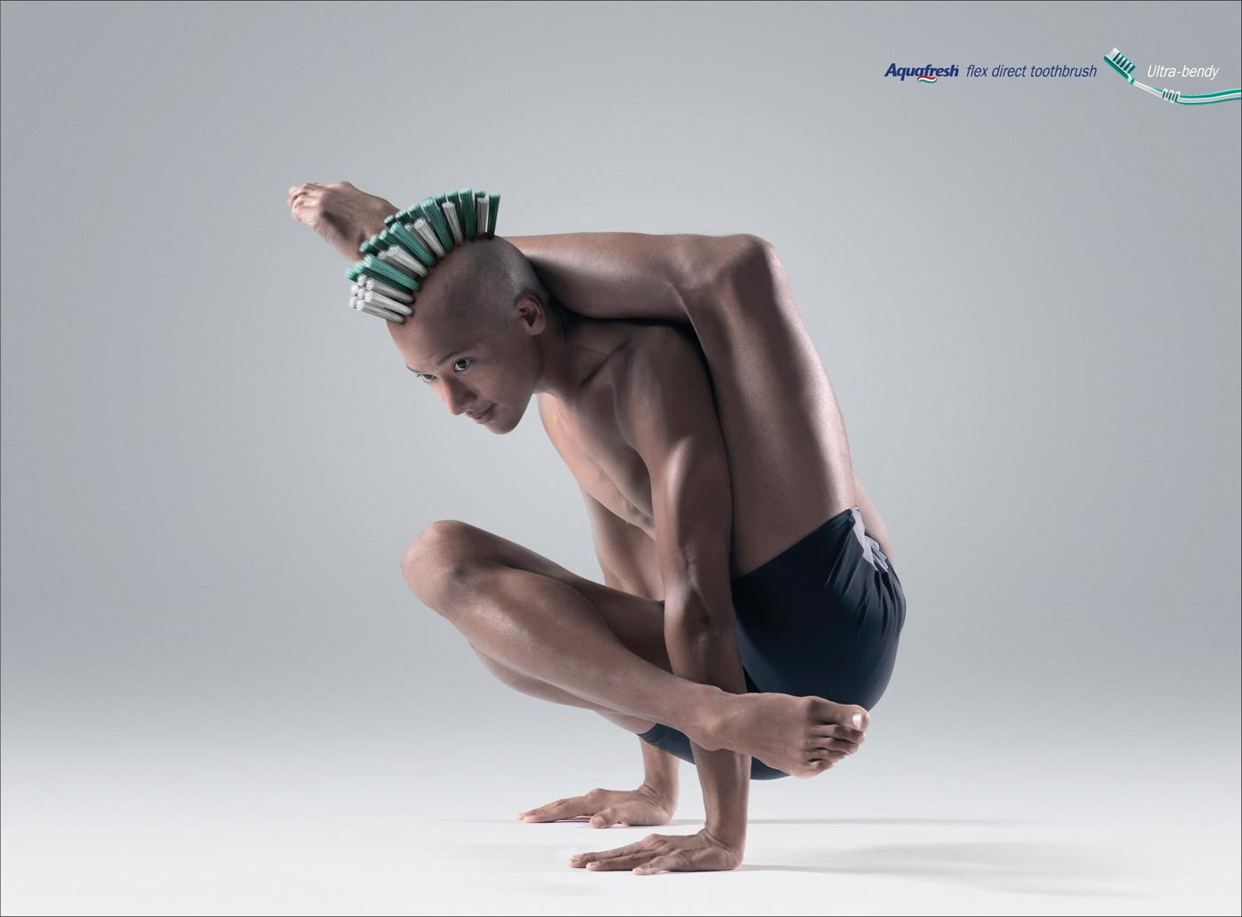 Aquafresh Print Ad -  Ultra-bendy, 1