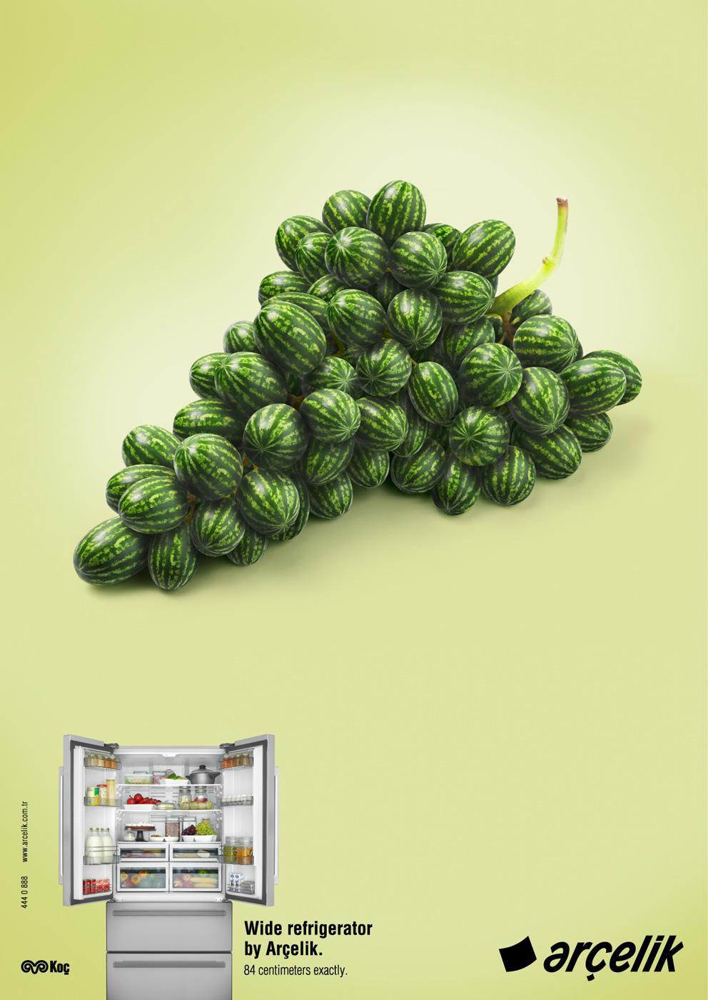 Arçelik Print Ad -  Grape