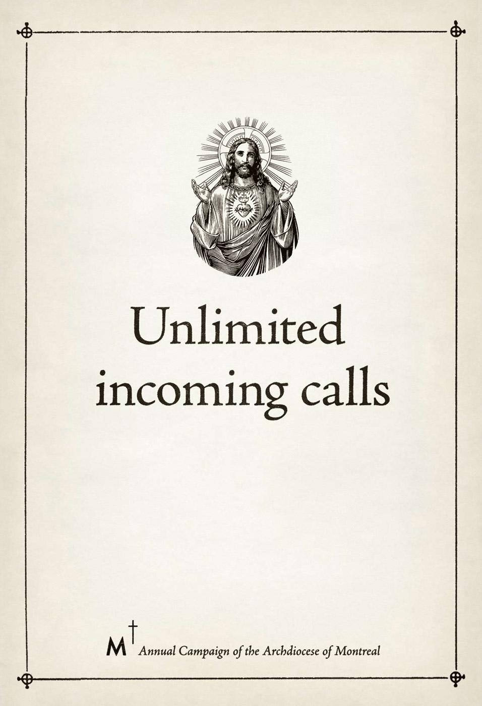 Archdiocese of Montreal Print Ad -  Unlimited