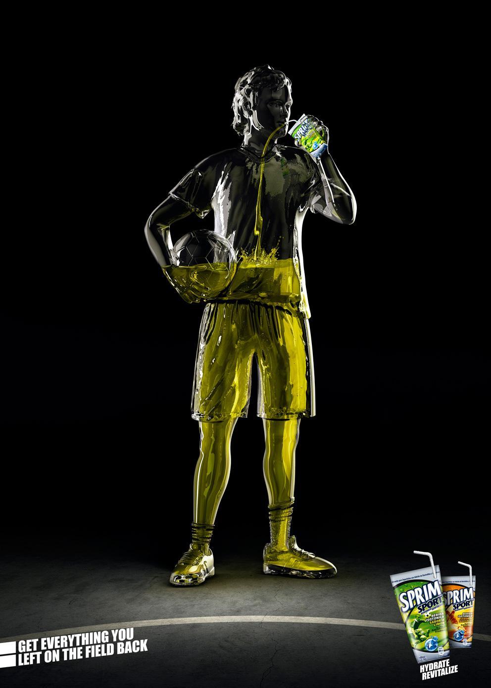 Sprim Print Ad -  Football