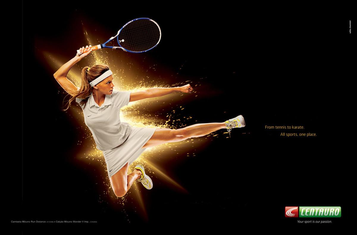 From Tennis to Karate