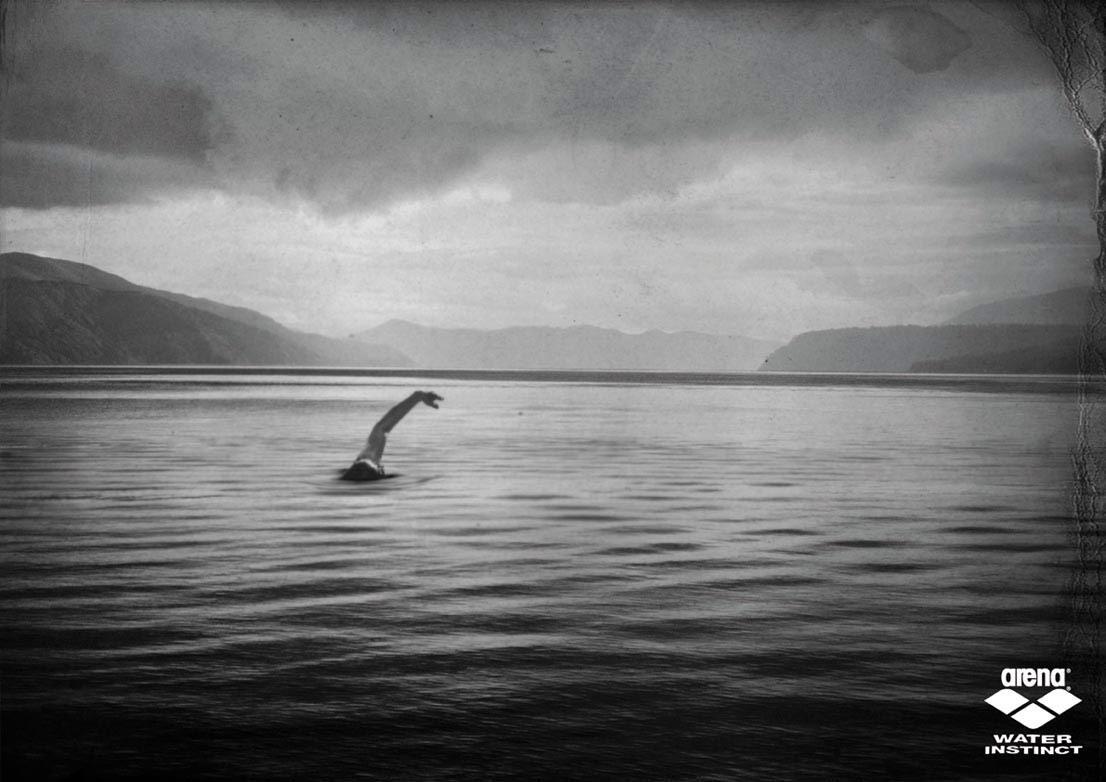 Arena Print Ad -  Loch Ness