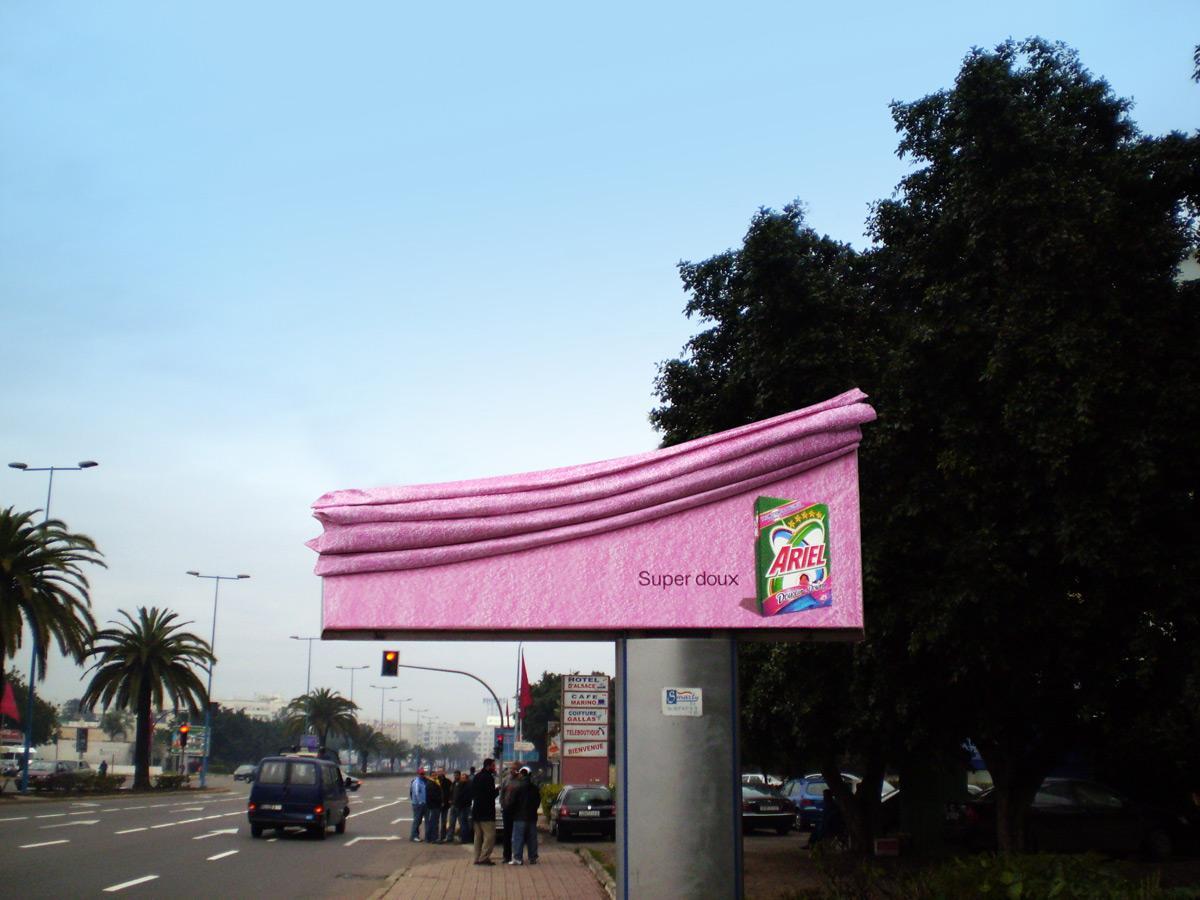Ariel Ambient Ad -  Super soft billboard