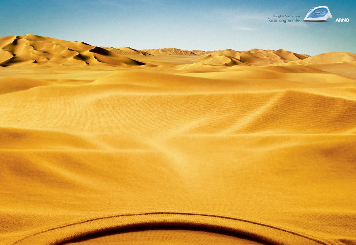 Arno Print Ad -  Sand