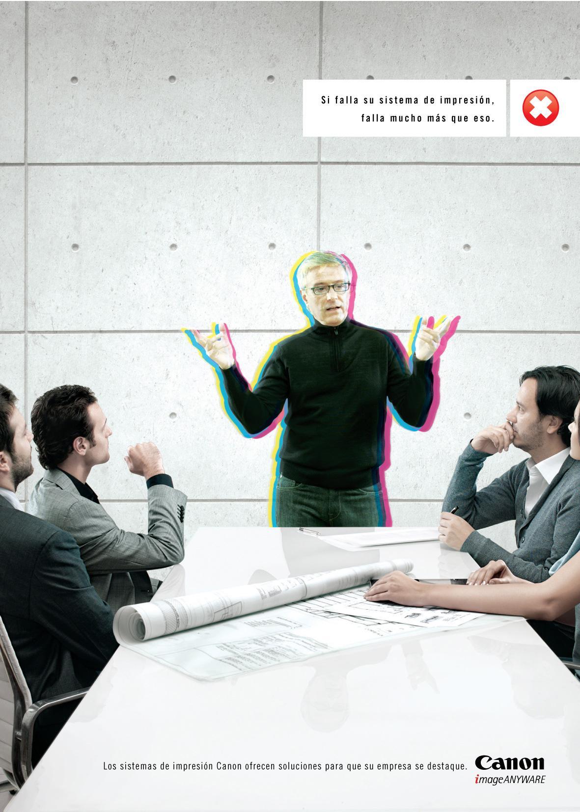 Canon Print Ad -  Architect