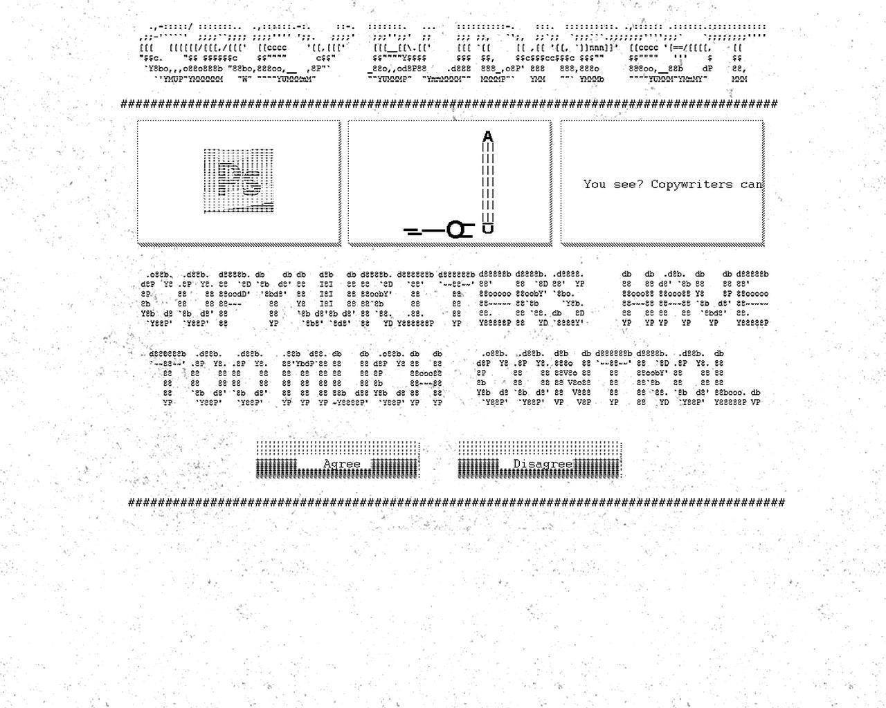 Grey Digital Ad -  Copywriters have too much control