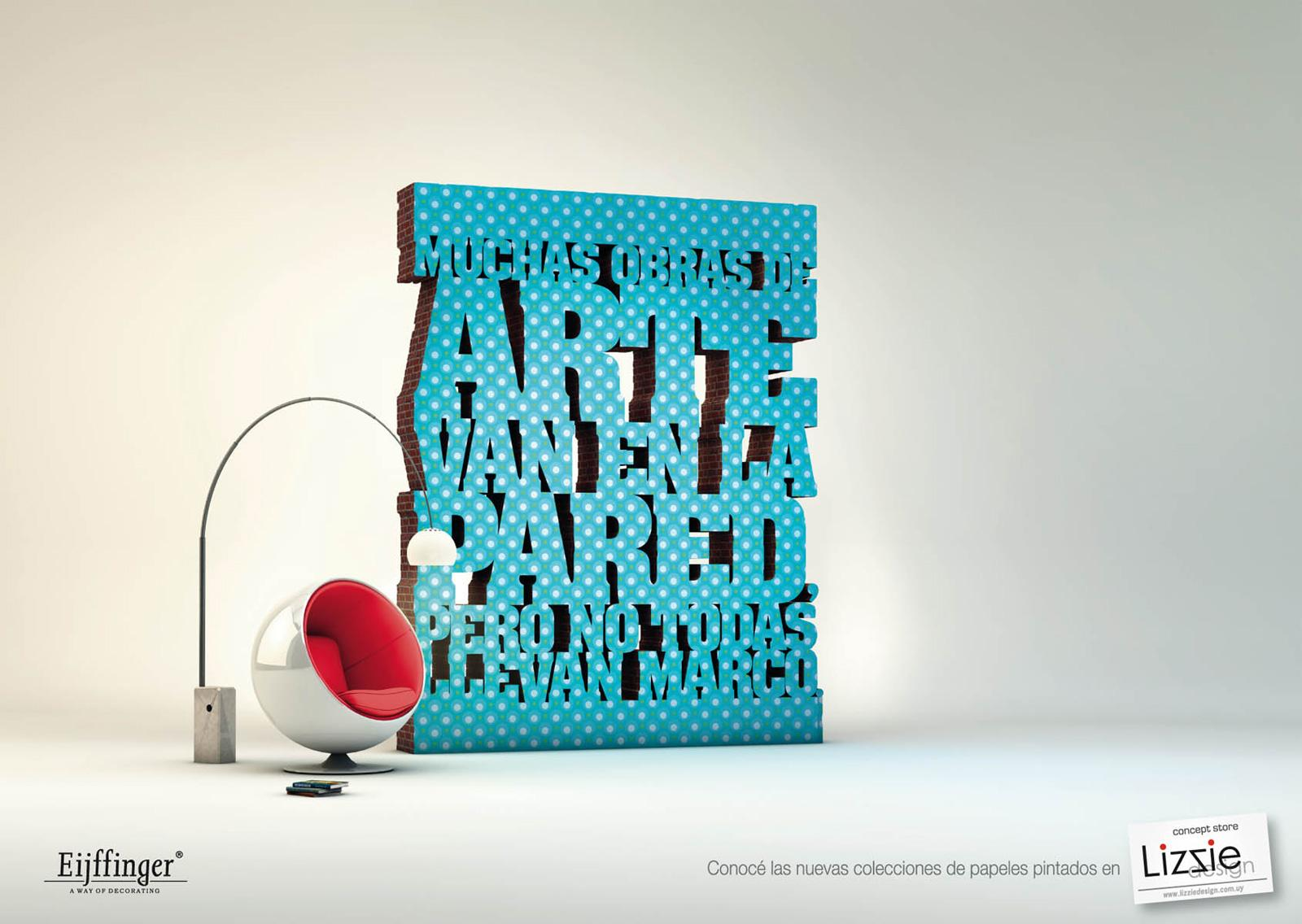 Lizzie Design Print Ad -  Art