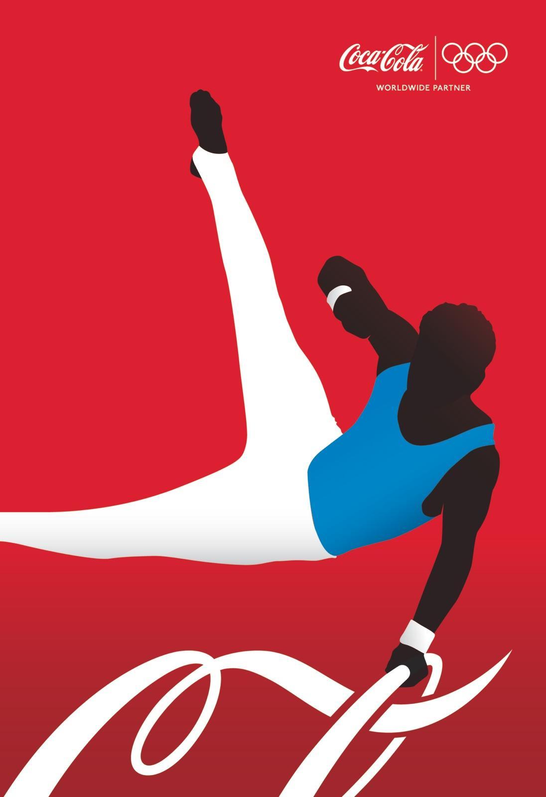 Coca-Cola Outdoor Ad -  Athletes, Artistic Gymnast