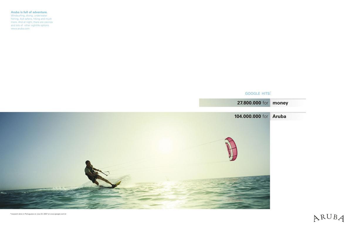 Aruba Print Ad -  Money