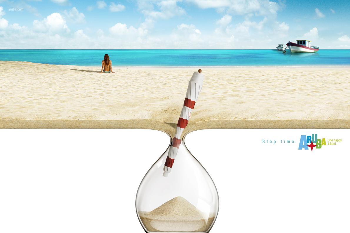 Aruba Print Ad -  Umbrella