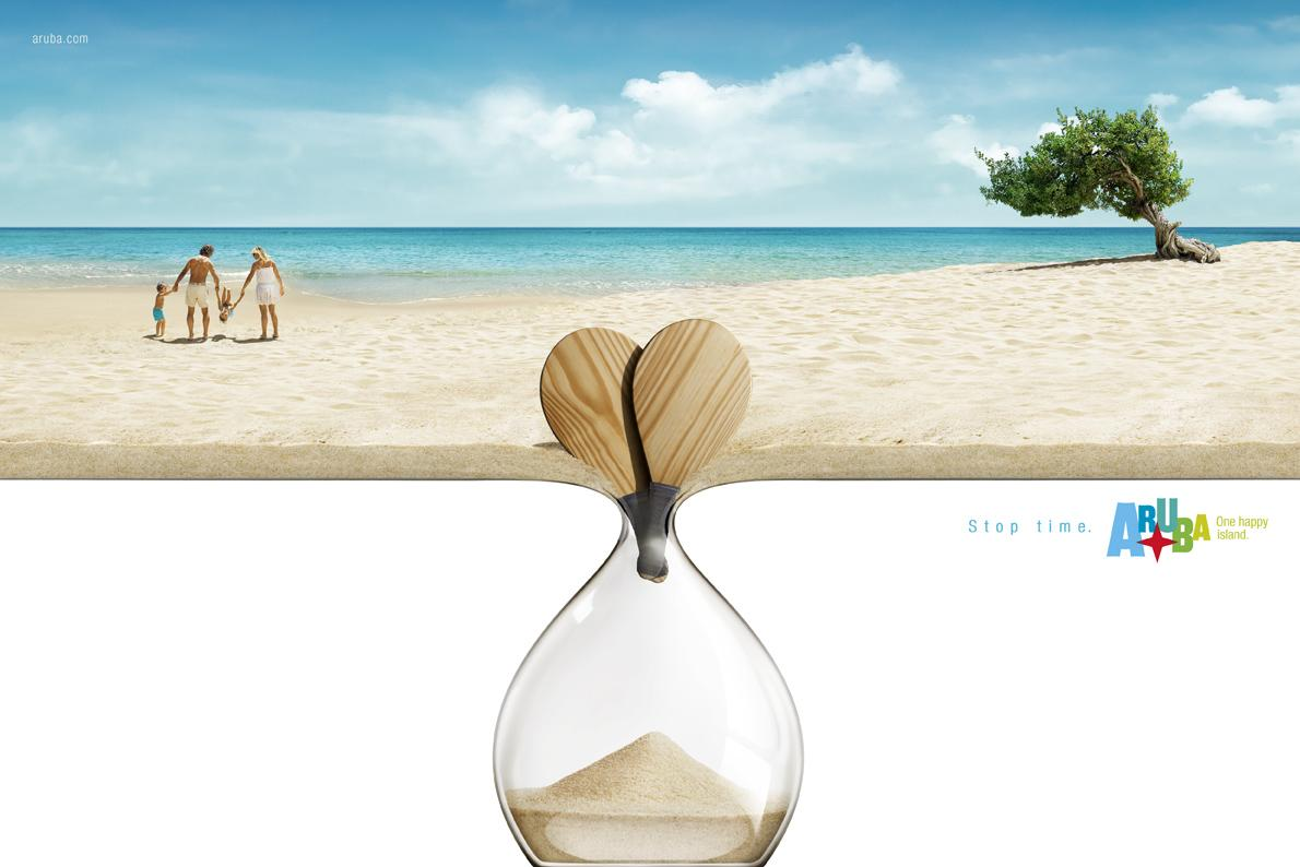 Aruba Print Ad -  Racquets
