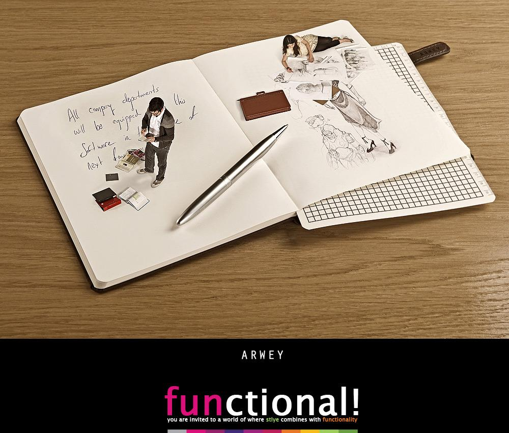 Arwey Print Ad -  Functional, 3