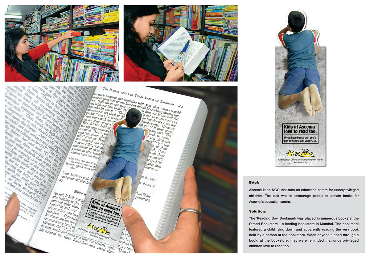 Aseema Ambient Ad -  Bookmark