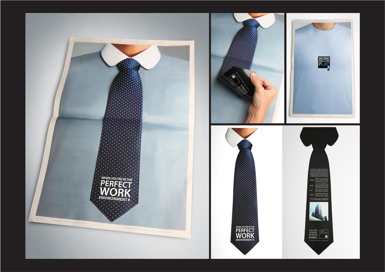 Asia Square Print Ad -  Tie