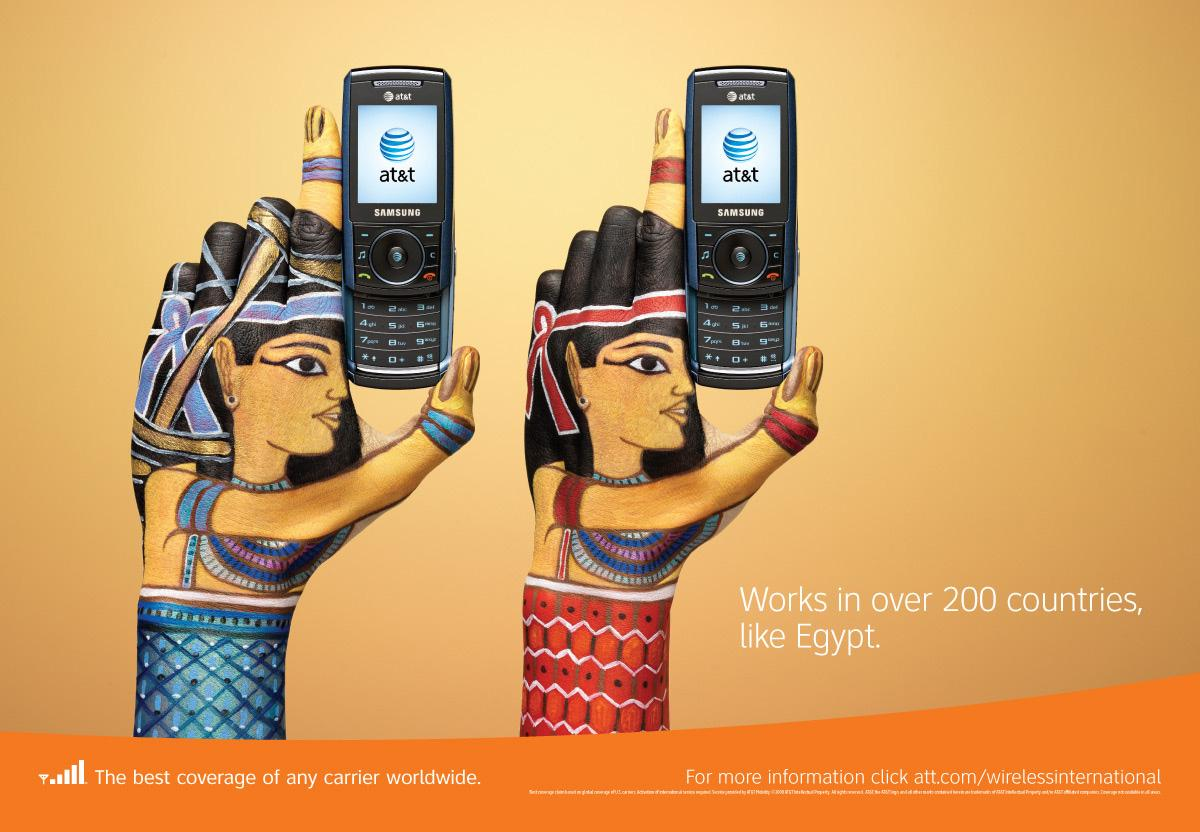 AT&T Outdoor Ad -  Egypt