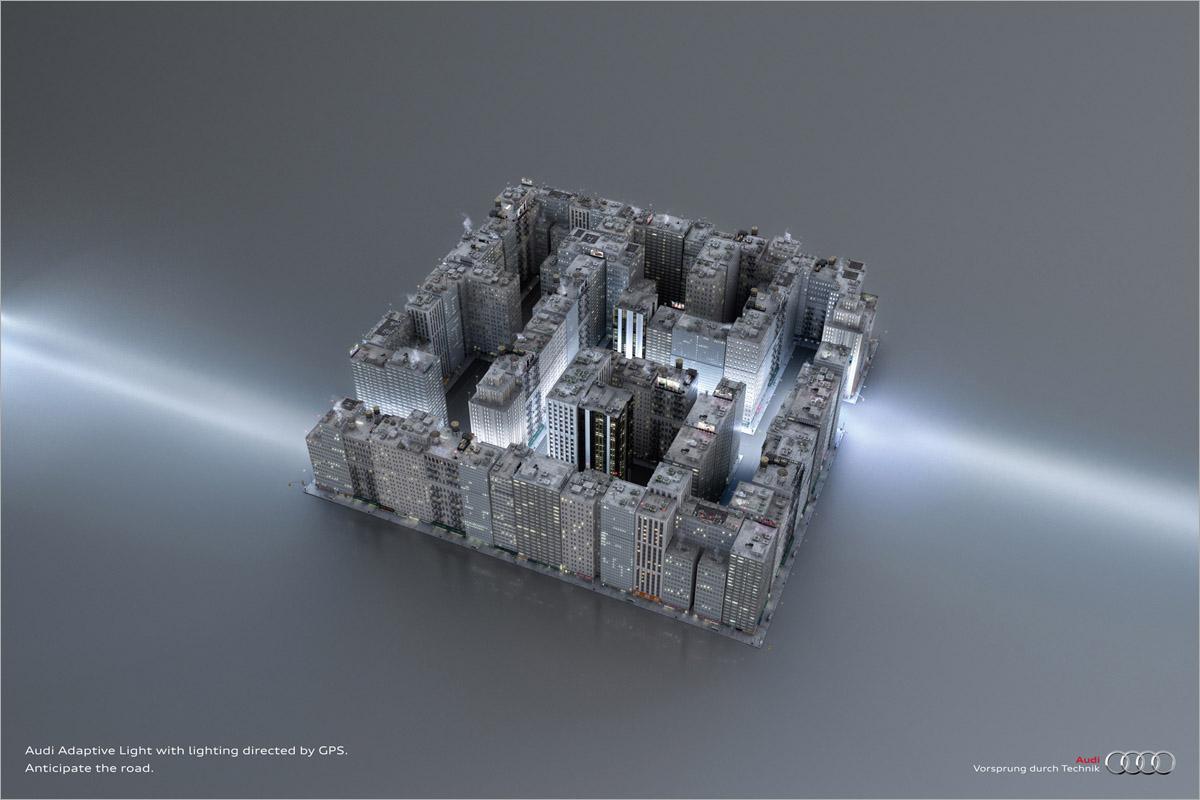 Audi Print Ad -  Labyrinth