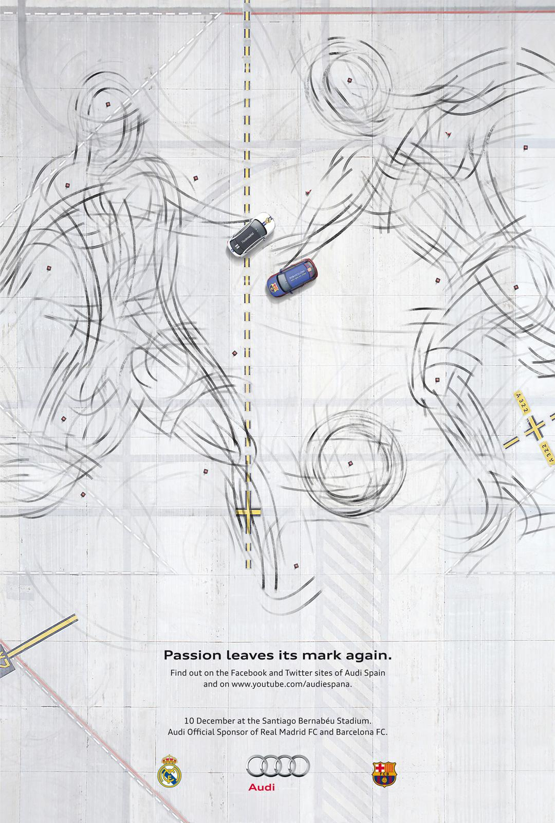 Audi Print Ad -  Passion leaves its mark again