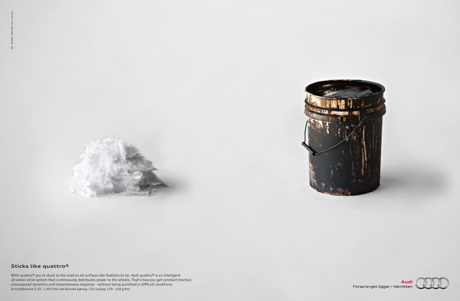 Audi Print Ad -  Feather
