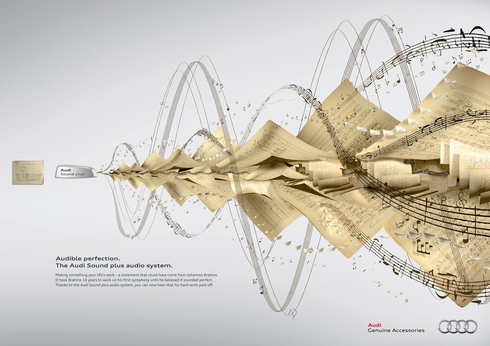 Audi Print Ad -  Brahms
