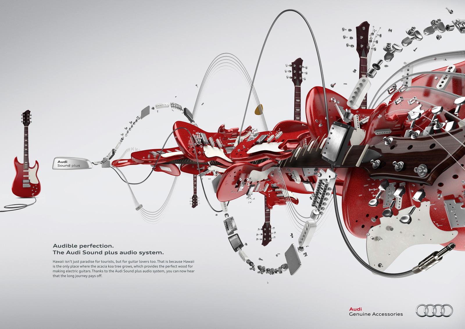 Audi Print Ad -  Guitar