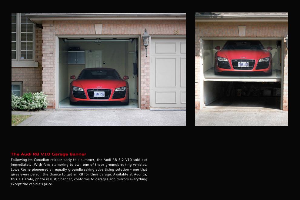 Audi Ambient Ad -  Garage