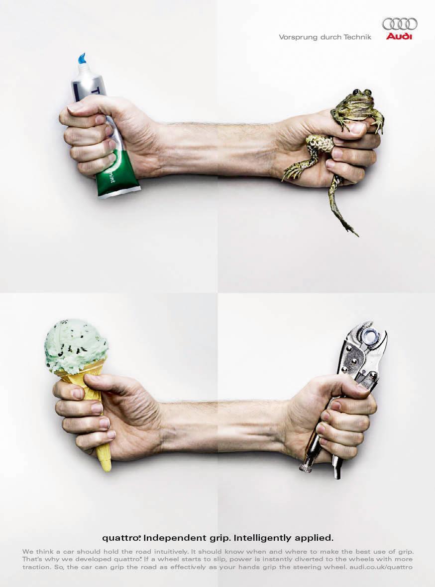 Audi Print Ad -  Grip, 1