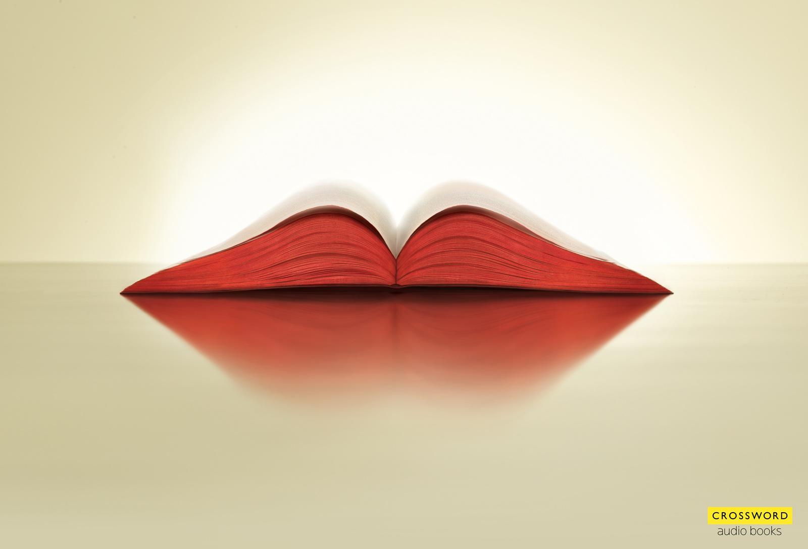 Crossword Bookstores Print Ad -  Lips