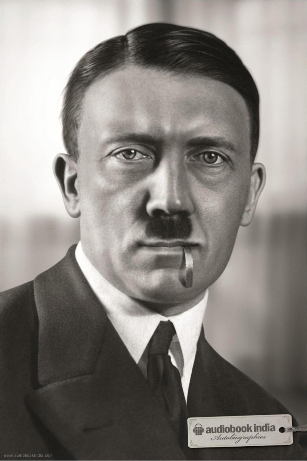 AudioBook India Print Ad -  Hitler