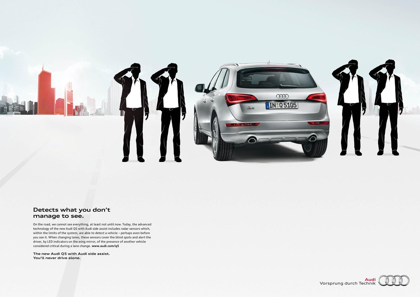 Audi Print Ad -  Side Assist