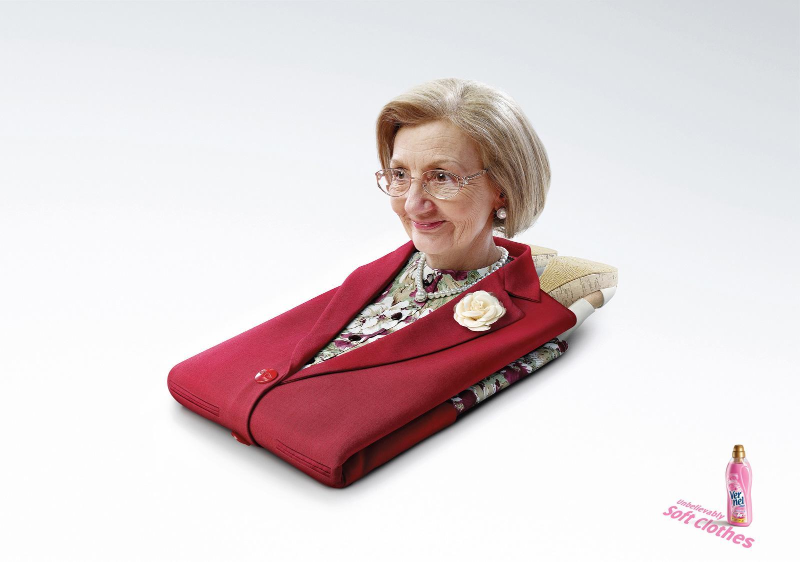 Vernel Print Ad -  Aunt Agatha