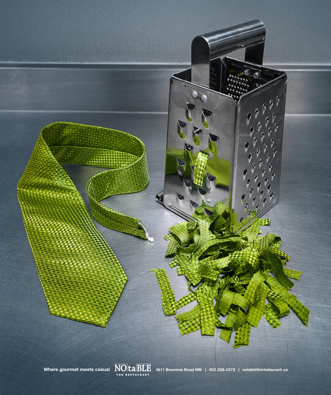 NOtaBLE Print Ad -  Grater