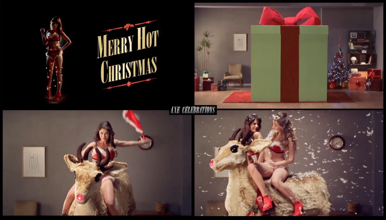 Axe Digital Ad -  Celebrations Christmas e-card