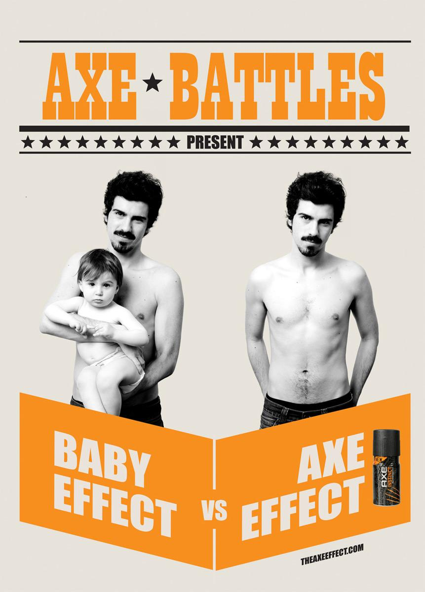 Axe Print Ad -  Baby effect