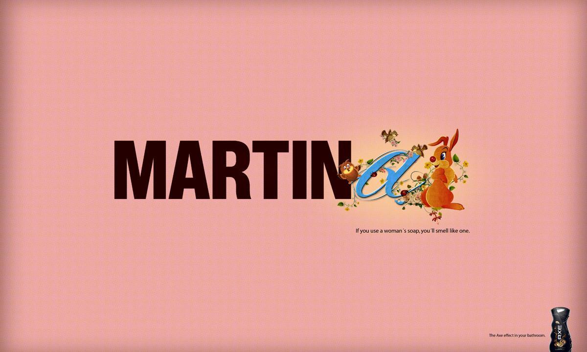 Axe Print Ad -  Martina