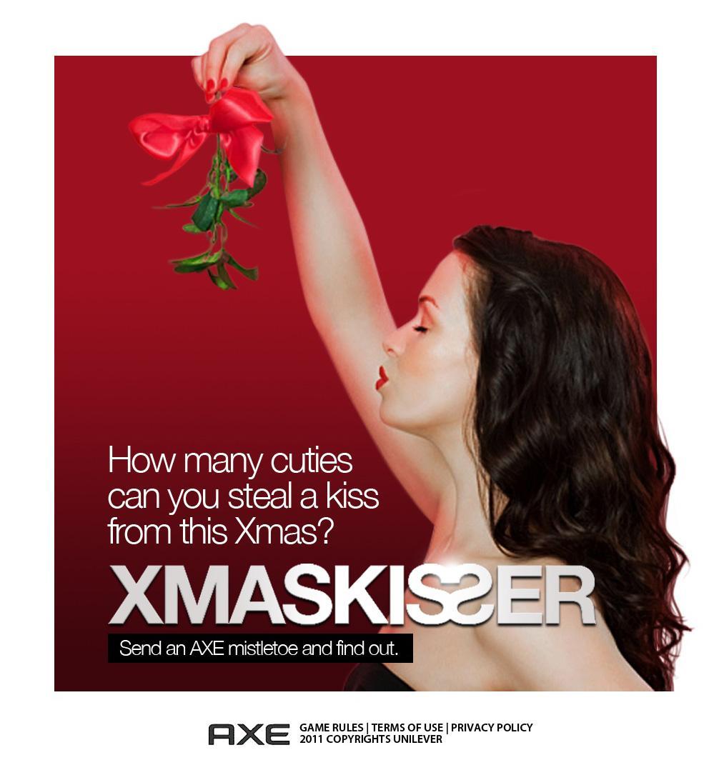 Axe Digital Ad -  Xmaskisser Facebook App