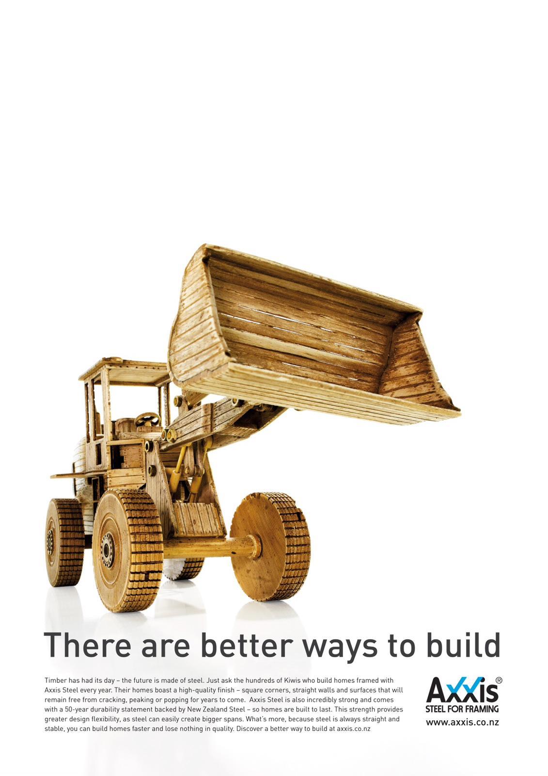 Axxis Print Ad -  Excavator
