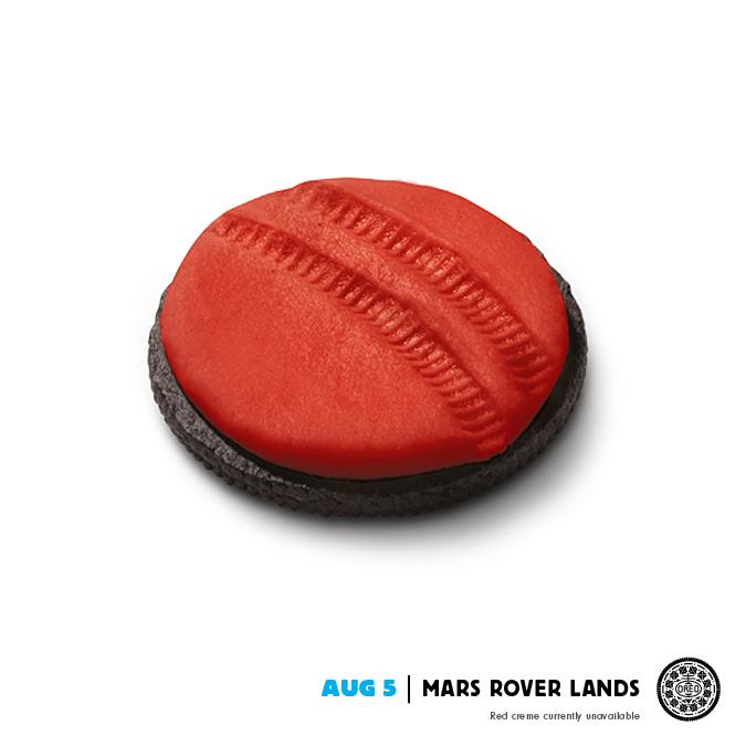 Oreo Print Ad -  Mars Rover