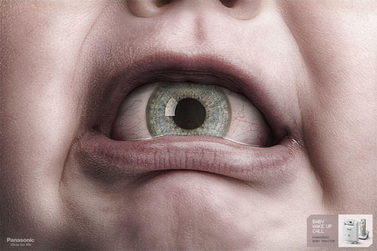 Panasonic Print Ad -  Eye