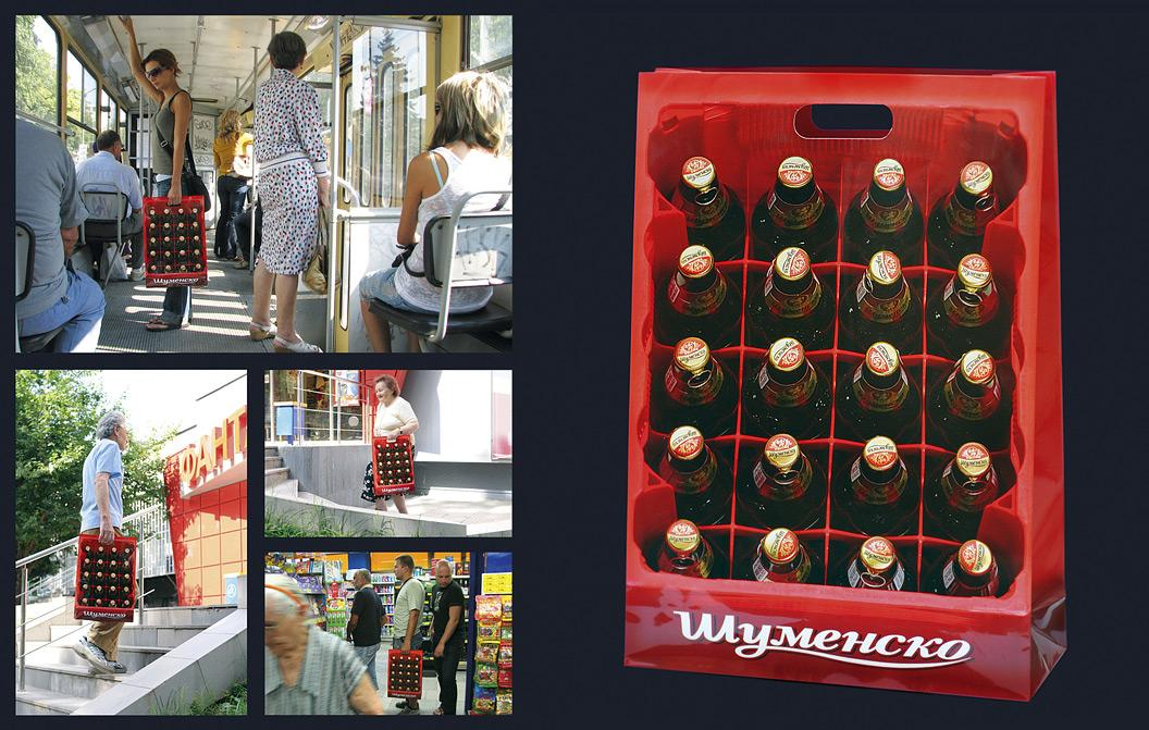 Shumensko Beer Direct Ad -  Crate bag