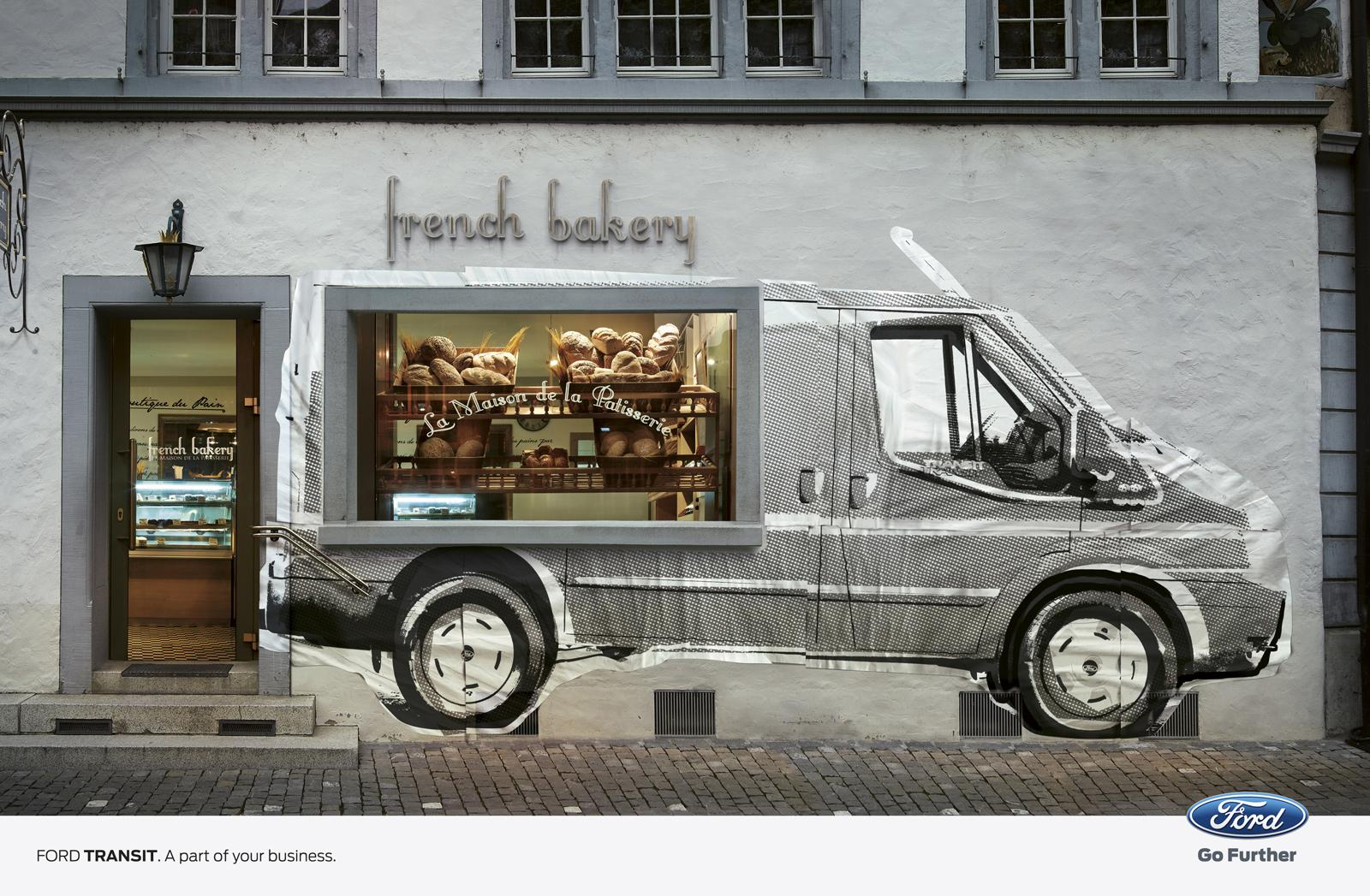 Ford Print Ad -  Bakery
