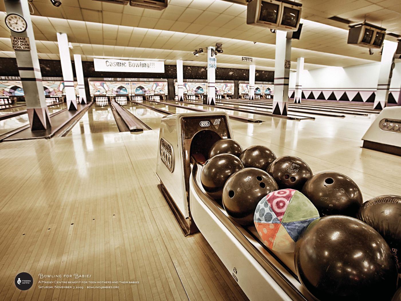 Massey Centre Print Ad -  Ball